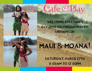 Maui & Moana!