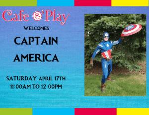 Capitan America visits