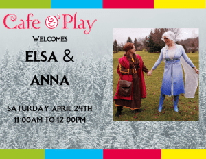 Elsa and Anna!