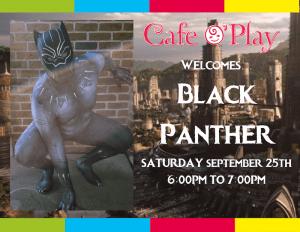 BLACK PANTHER VISIT!