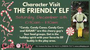Buddy the elf!