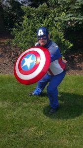 Patriotic Hero Visit!