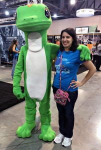 GEICO Gecko Character visit