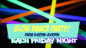 GLOW DANCE PARTY! @ Cafe O'Play