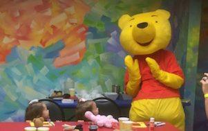 Pooh Bear Visit!